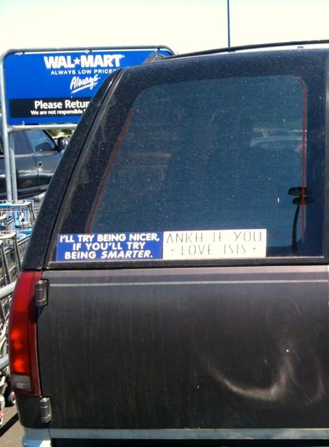 bumper sticker OR