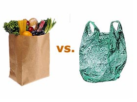 Recyclable Plastic Green Bags